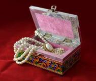 Caixa indiana para o bijouterie Imagem de Stock Royalty Free