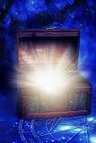 Caixa mágica imagens de stock royalty free