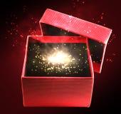 Caixa mágica foto de stock