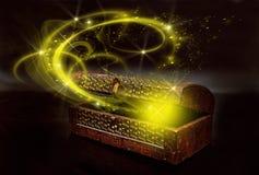 caixa mágica Fotos de Stock