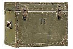 Caixa militar Imagens de Stock