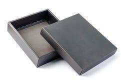 Caixa negra Fotografia de Stock Royalty Free
