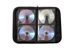 Caixa para os disces Imagem de Stock
