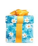 Caixa para presentes. Perfil. imagens de stock