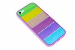 Caixa para a tampa do telefone para o smartphone Fotografia de Stock