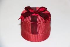 Caixa pequena vermelha Imagem de Stock
