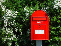 Caixa postal fotografia de stock