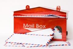 Caixa postal Imagem de Stock Royalty Free