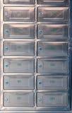 Caixa postal da chapa de aço Imagens de Stock Royalty Free