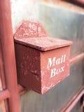 Caixa postal da porta da rua em Tailândia Fotografia de Stock Royalty Free