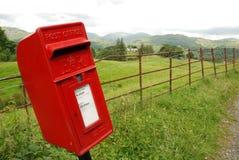 Caixa postal do campo Imagem de Stock