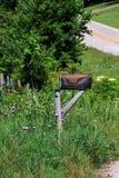 Caixa postal do país Fotografia de Stock Royalty Free