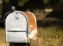 Caixa postal dos E.U. Imagens de Stock