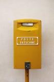Caixa postal de Vatican Foto de Stock Royalty Free