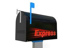 Caixa postal expressa Imagens de Stock Royalty Free