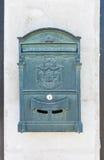 Caixa postal na parede Imagens de Stock Royalty Free