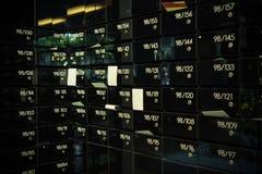 Caixa postal no condomínio fotografia de stock royalty free