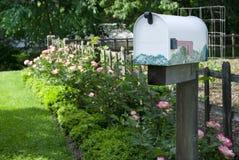 Caixa postal rural foto de stock