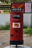 Caixa postal velha na Índia Imagem de Stock