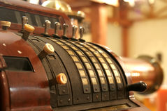 Caixa registadora do vintage Imagem de Stock Royalty Free