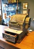 Caixa registadora do vintage Fotografia de Stock