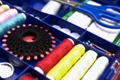 Caixa Sewing Imagens de Stock