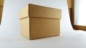Caixa simples Fotografia de Stock Royalty Free