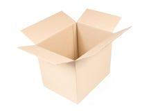 Caixa vazia Fotografia de Stock