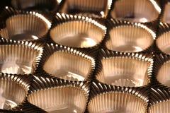 Caixa vazia do chocolate Fotos de Stock Royalty Free
