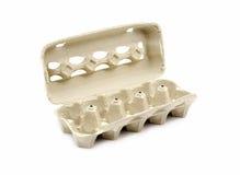 Caixa vazia do ovo Fotografia de Stock
