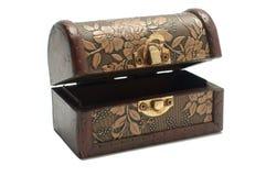 Caixa vazia do tesouro Imagem de Stock Royalty Free