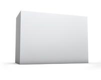 Caixa vazia horizontal Foto de Stock