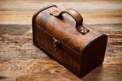 Caixa velha Imagem de Stock