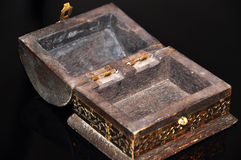 Caixa velha aberta Fotografia de Stock Royalty Free