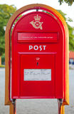 Caixa velha do cargo Fotografia de Stock