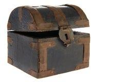 Caixa velha do tesouro fotografia de stock
