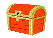 Caixa velha vermelha Foto de Stock Royalty Free