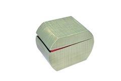 Caixa verde Fotos de Stock Royalty Free