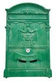 Caixa verde do borne. Fotos de Stock Royalty Free