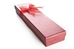 A caixa vermelha Fotografia de Stock Royalty Free