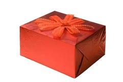 Caixa vermelha imagem de stock royalty free
