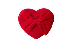 Caixa vermelha 1 do coração Imagens de Stock Royalty Free