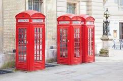 Caixa vermelha do telefone fotografia de stock royalty free