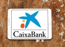 CaixaBank logo royaltyfri bild
