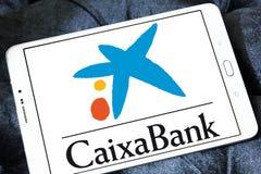 CaixaBank logo Stock Image