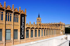 CaixaForum Barcelona, in Barcelona, Spain Royalty Free Stock Photography