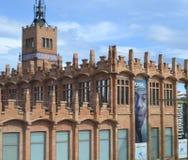 Caixaforum, Barcelona, Spanje stock afbeeldingen