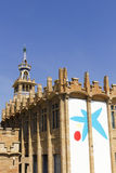 Caixaforum Museum, Barcelona, Spain. Royalty Free Stock Photos