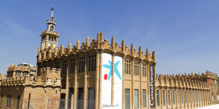 Caixaforum Museum, Barcelona, Spain. Royalty Free Stock Photography