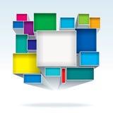Caixas abstratas Imagens de Stock